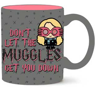 Harry potter Don't Let Me The Muggles Get You Down Glitter  14Oz - Kryptonite Character Store