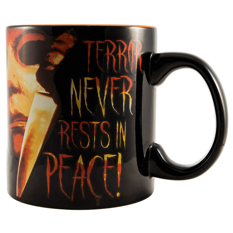 Halloween Everyone Entitled to a Good Scare Ceramic Mug, 20-oz, Multicolor - Kryptonite Character Store