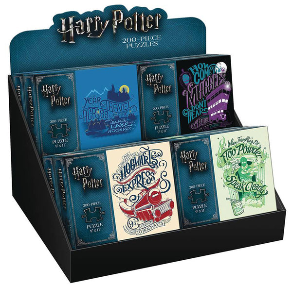 Harry Potter 200-Piece Puzzle Assortment