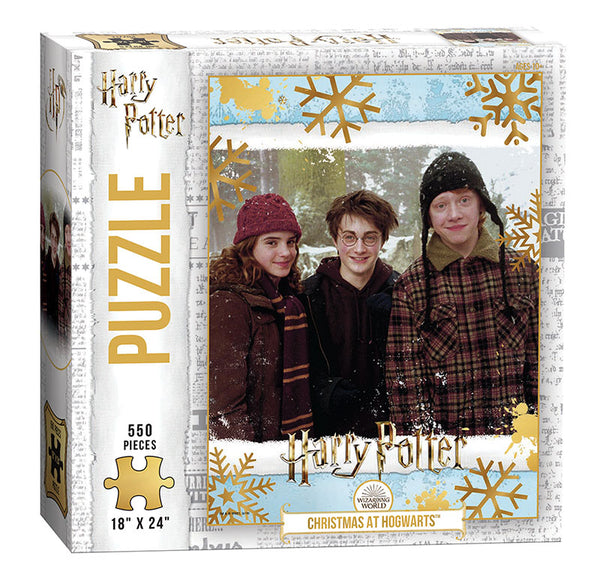 "Harry Potter ""Christmas at Hogwarts"" 550 Piece Puzzle- Kryptonite Character Store"