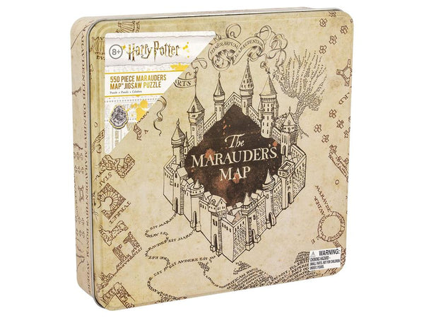 Harry Potter The Marauders Map 550-Piece Jigsaw Puzzle - Kryptonite Character Store
