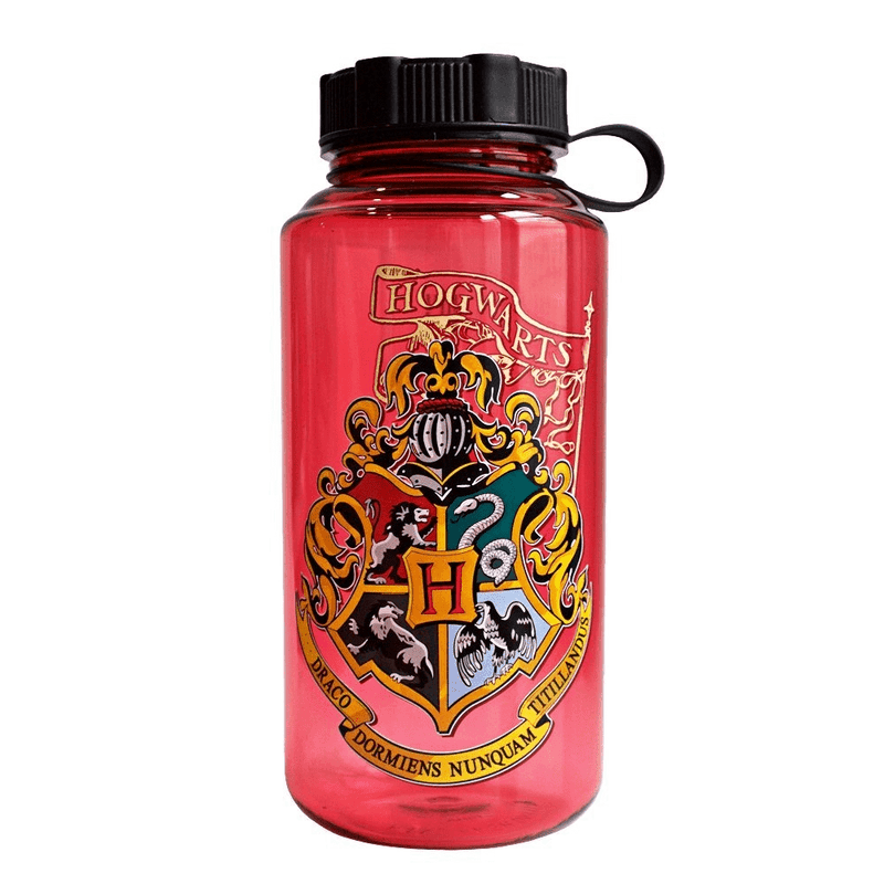 Harry Potter Hogwarts Crest Liter Water Bottle - Kryptonite Character Store