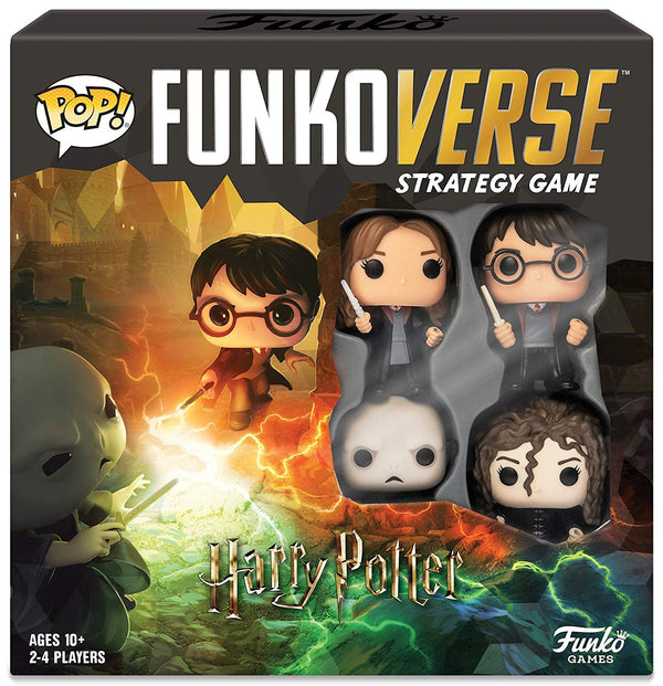 Pop- Funkoverse Strategy Game: Harry Potter #100 - Base Set - Kryptonite Character Store