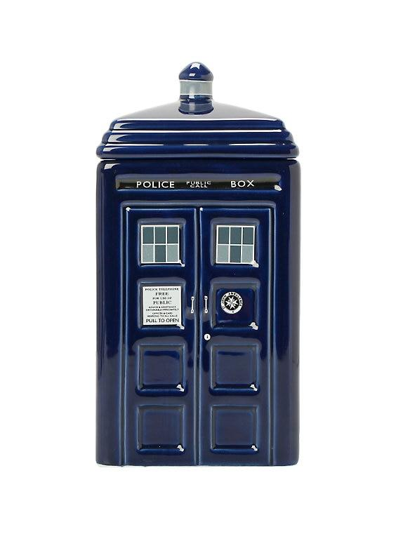Doctor Who Tardis Cookie Jar *CLEARANCE*