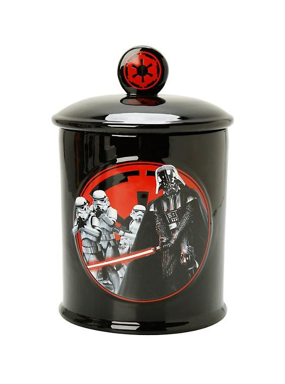 "Star Wars ""Dark Side"" Cookie Jar *CLEARANCE*"