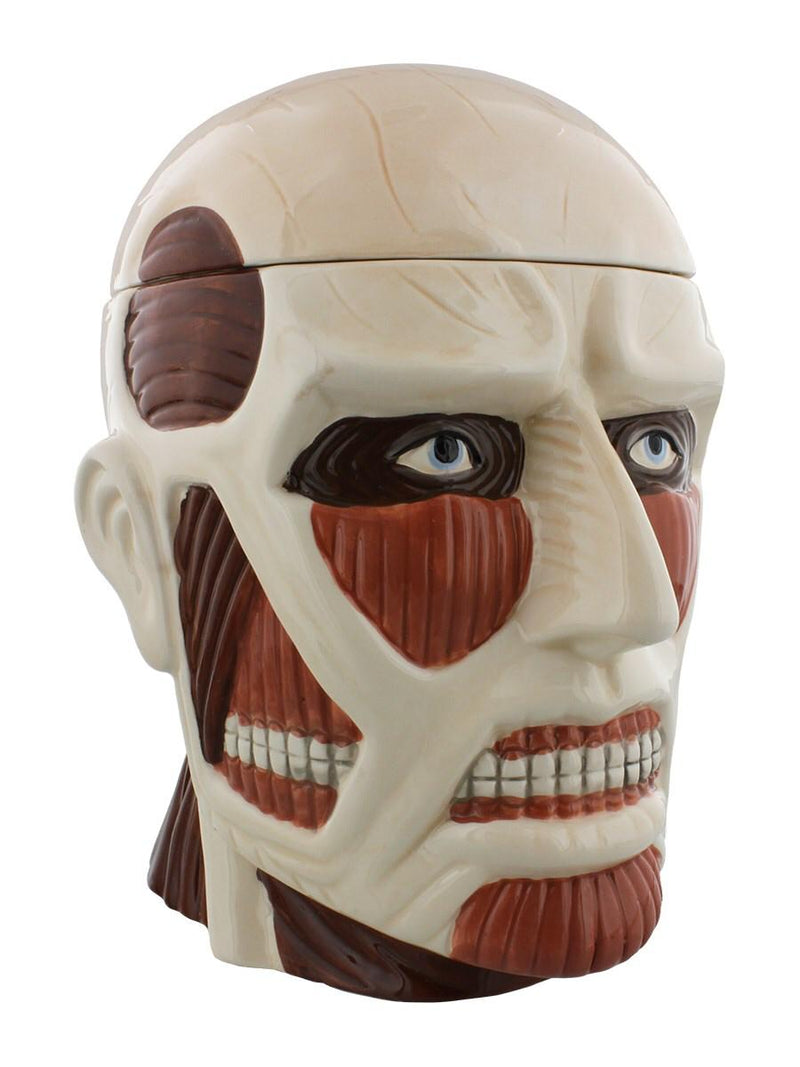 Attack on Titan Colossal Lidded Cookie Jar - Kryptonite Character Store