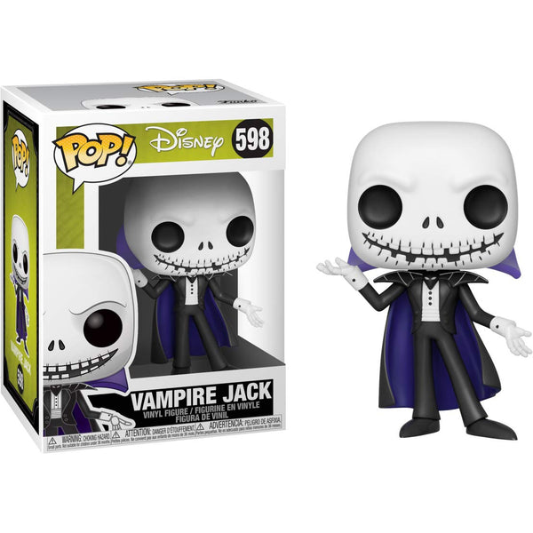 Funko Pop! Disney: Nightmare Before Christmas - Vampire Jack - Kryptonite Character Store