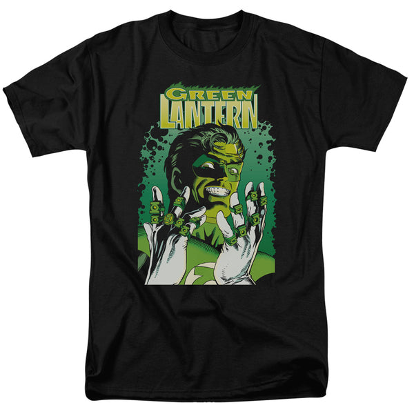 Justice League  Green Lantern Cover Officially Licensed Adult T Shirt - Kryptonite Character Store