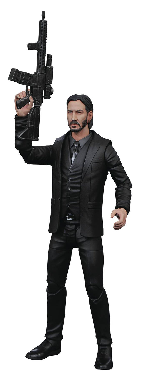 John Wick: Chapter 2 John Wick Black Suit Action Figure - Kryptonite Character Store