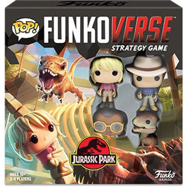 Funko POP! Funkoverse: Jurassic Park 100 - Strategy Game