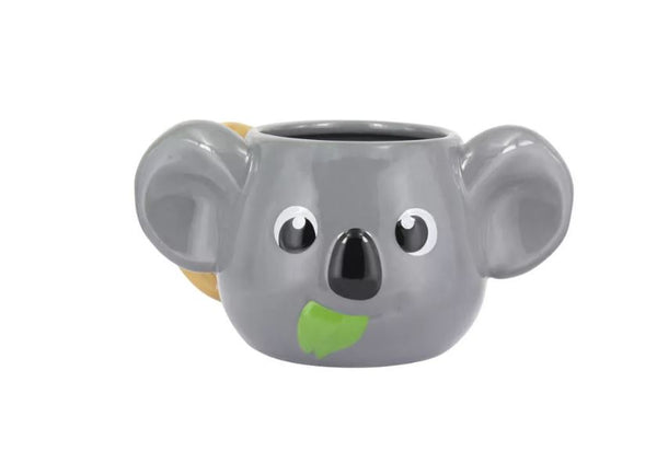 Koala Head Shaped Mug - Kryptonite Character Store