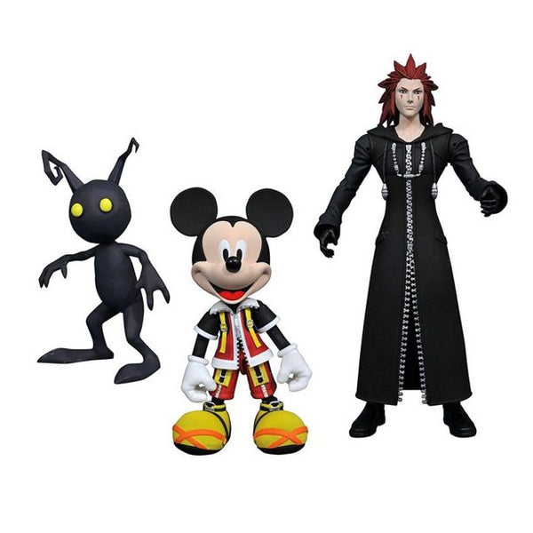 Kingdom Hearts Select Action Figure Set - Mickey w/ Dusk & Sora w/ Axel