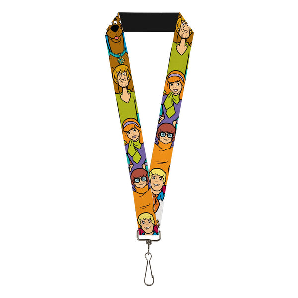 Scooby - Doo Character Poses Stack Lanyard - Kryptonite Character Store