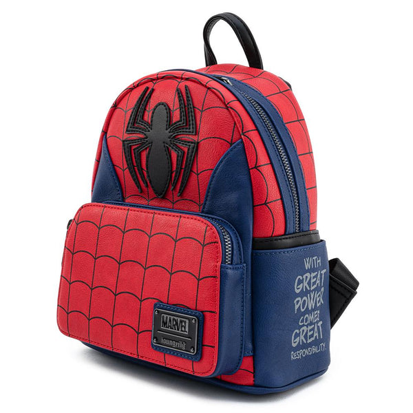 Marvel Spider-Man Classic Cosplay Mini Backpack - Kryptonite Character Store