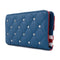 Loungefly Americana Star Studded Quilted Wallet
