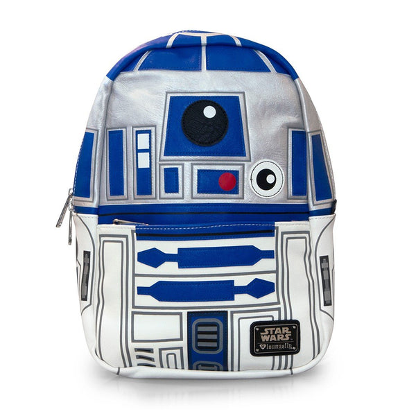Loungefly x Star Wars R2-D2 Mini Faux Leather Backpack- Kryptonite Character Store