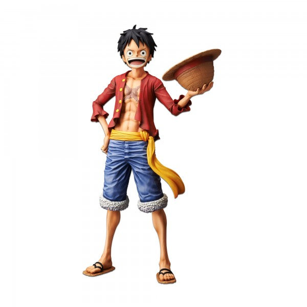 One Piece Monkey.D.Luffy Grandista nero Figure