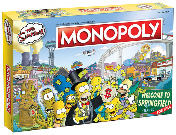 Monopoly The Simpsons Bored Game - Kryptonite Character Store