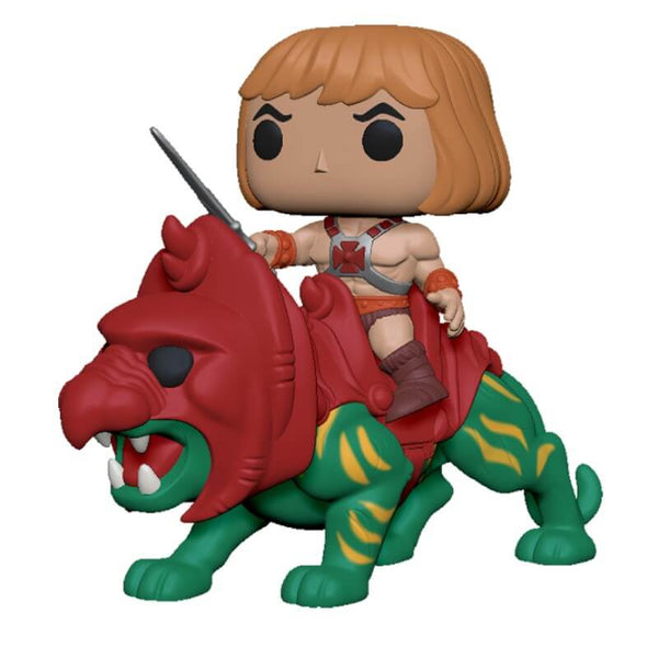 Funko Pop! Ride  Masters of the Universe He-Man on Battle Cat  - Kryptonite Character Store