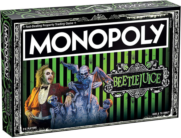 Monopoly Beetlejuice Board Game - Kryptonite Character Store