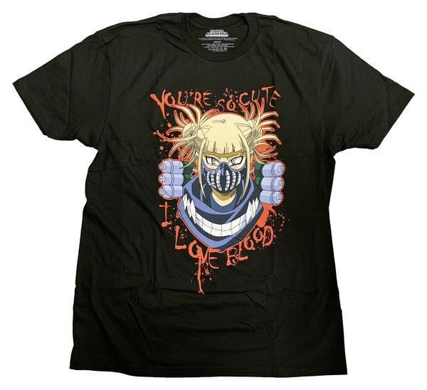 My Hero Academia Himiko Love Blood T-shirt - Kryptonite Character Store
