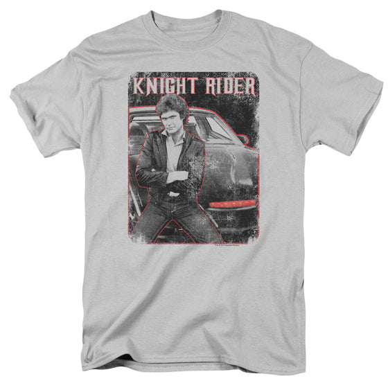 Knight Rider TV Show Knight & Kitt Photo Vintage Style Adult T-Shirt