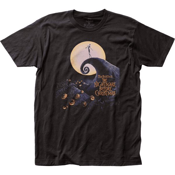 The Nightmare Before Christmas T-Shirt, Black - Kryptonite Character Store