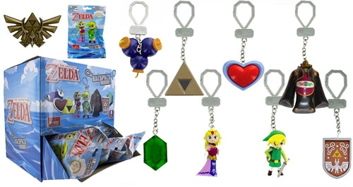 Legend Of Zelda Princess Zelda Backpack Buddies Keychain Clip