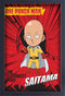 One Punch Man- Strongest Man 11x17 Print Framed- Kryptonite Character Store