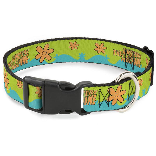 Plastic Clip Collar - Scooby Doo The Mystery Machine Paint Job - Kryptonite Character Store