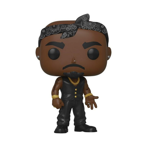 POP! Rocks: Tupac Shakur with Vest and Bandana
