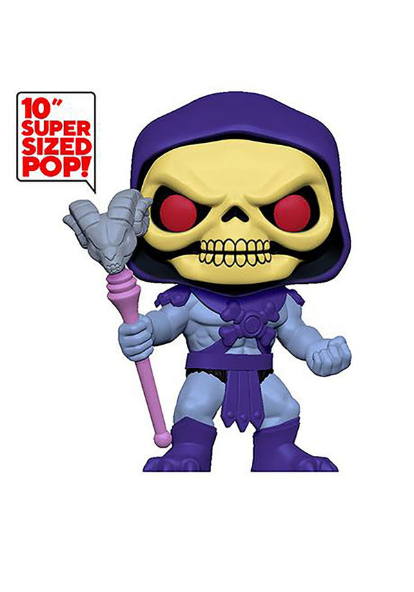 "Funko Pop! Animation: Masters of The Universe - 10"" Skeletor - Kryptonite Character Store"