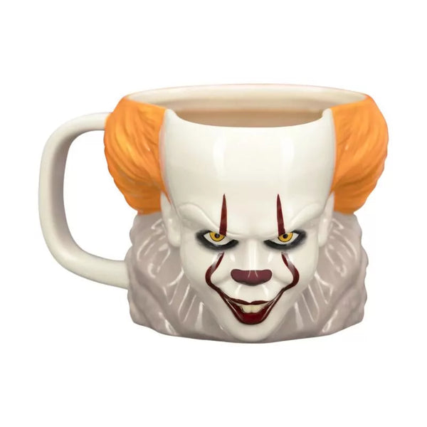 Horror - Pennywise IT Clown Shaped Mug - Kryptonite Character Store
