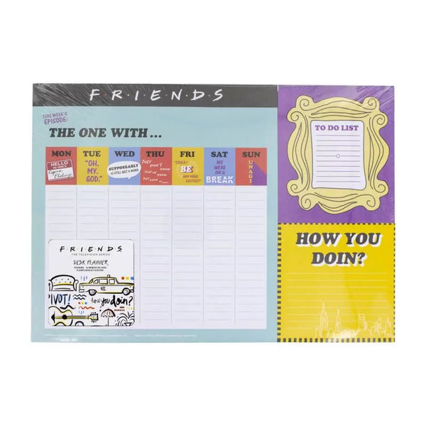 Friends Weekly Planner CDU 12 - Kryptonite Character Store