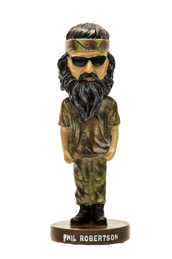 Duck Dynasty Phil Robertson Bobblehead - Kryptonite Character Store
