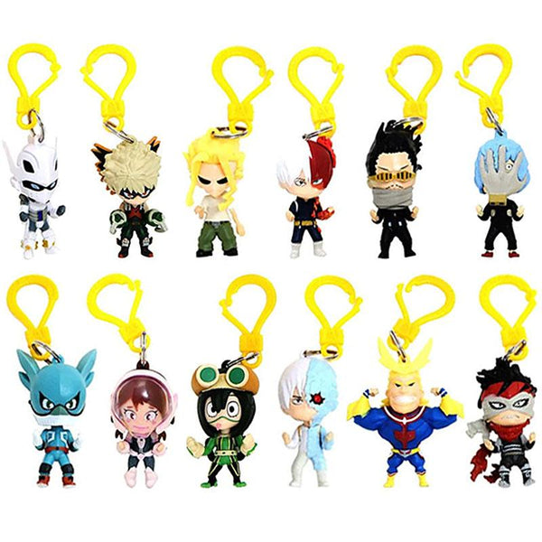 My Hero Academia Backpack Clips