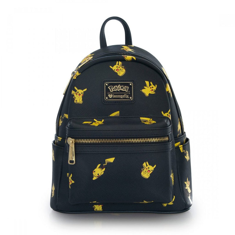 Loungefly Pokemon Pikachu Mini Backpack Navy-Yellow