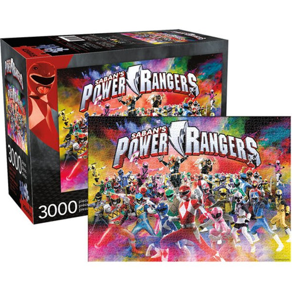 Power Rangers 3000pc Jigsaw Puzzle  - Kryptonite Character Store
