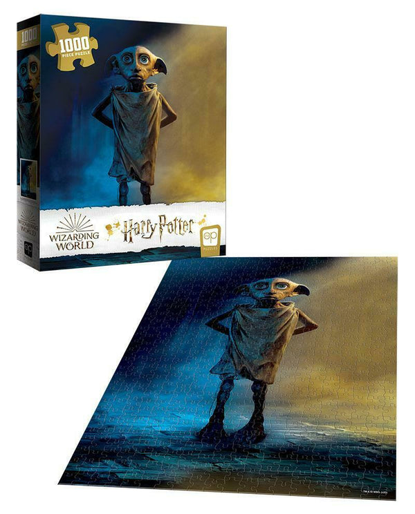 Wizarding World Harry Potter - Dobby 1000 Piece Jigsaw Puzzle - Kryptonite Character Store