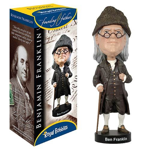 Presidents - Founding Fathers Benjamin Franklin Bobble Head