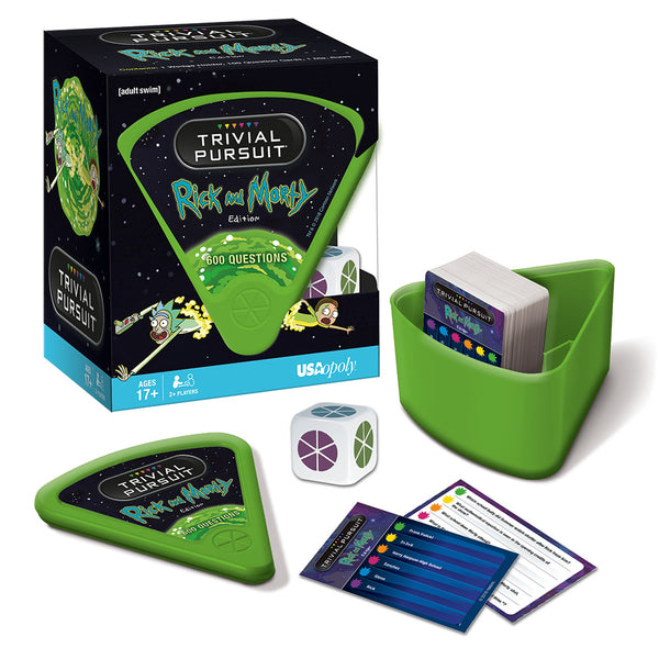 Rick and Morty Edition TRIVIAL PURSUIT Board Game