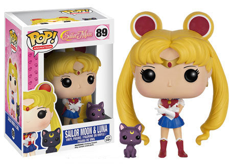 Sailor Moon & Lune Pop Vinyl Figure - Kryptonite Character Store