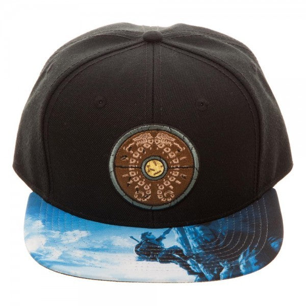 "The Legend of ""Zelda Breath of the Wild Shield"" Snapback Hat - Kryptonite Character Store"