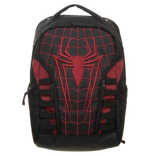 Marvel - Spiderman Miles Morales Into The Spider-Verse Built Up Backpack - Kryptonite Character Store