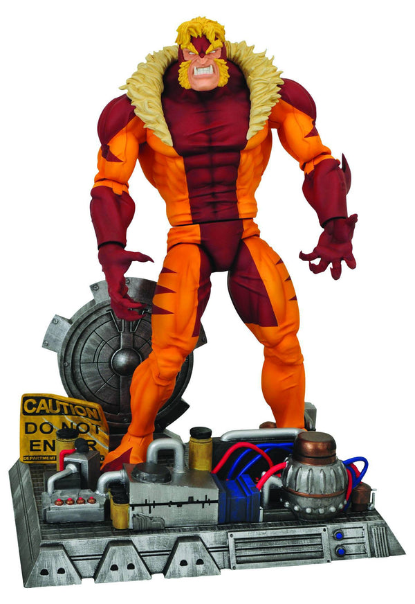 Marvel - Sabertooth Select Action Figure - Kryptonite Character Store