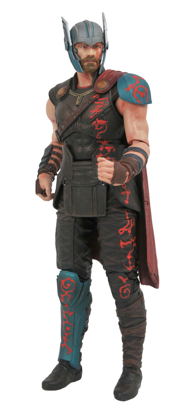 Marvel - Thor Ragnarok Gladiator Thor Select Action Figure -Kryptonite Character Store