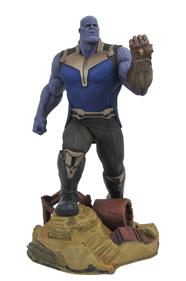 Marvel - Avengers Infinity War - Thanos Gallery PVC Figure - Kryptonite Character Store