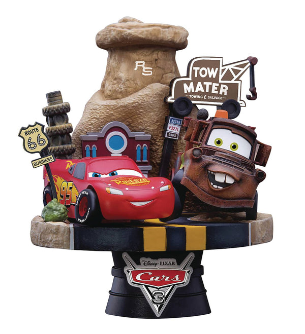 Cars 3 Dream-Select Diorama Set 009 - Kryptonite Character Store