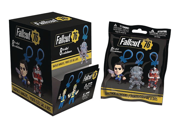 Fallout 76 Backpack Hangers 3D Mini Blind Bag