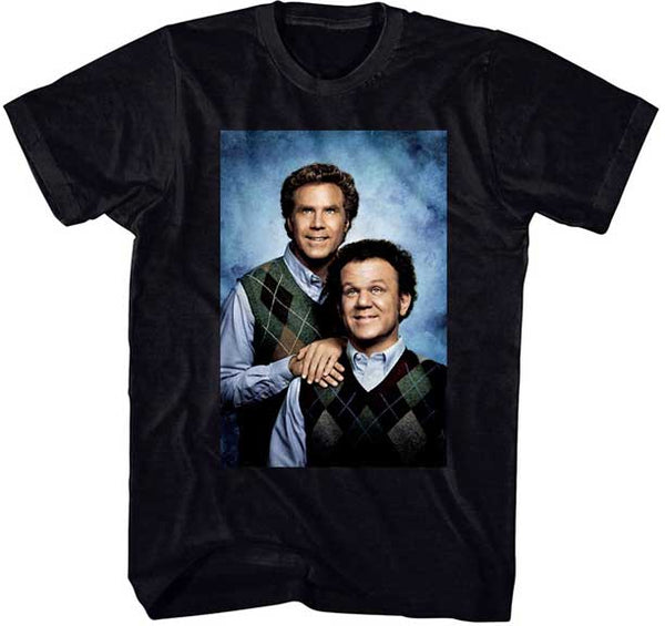 STEP BROTHERS Poster Black T-shirt